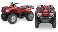 Range of ATVs.