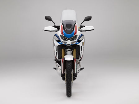 Honda Africa Twin Adventure Sports, vista dianteira