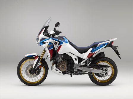 Honda Africa Twin Adventure Sports, vista lateral esquerda