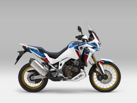Honda Africa Twin Adventure Sports, vista lateral