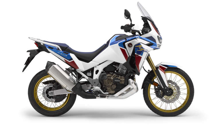 Honda Africa Twin Adventure Sports vista lateral imagem de estúdio