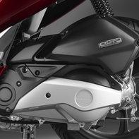 Grande plano das rotações da Honda PCX125.